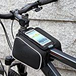 Roswheel-Bolso-Marco-de-Bicicleta-con-Bolsa-Transparente-y-Tctil-para-Poner-adelante-o-sobre-el-Tubo-de-Bici-a-Prueba-de-Agua-por-bolsilla-de-PVC-con-Cable-de-Extensin-de-Audio-o-Video-para-Telfonos-M-0