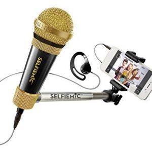 Micrófono selfi - Selfie Mic negro