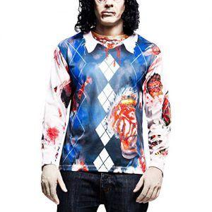 Camiseta hiperrealista estampado zombie