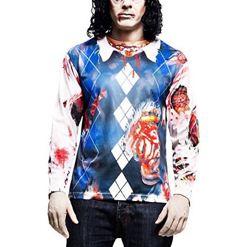 Yijja-Fast-Fun-Zombie-camiseta-de-manga-larga-para-adultos-0