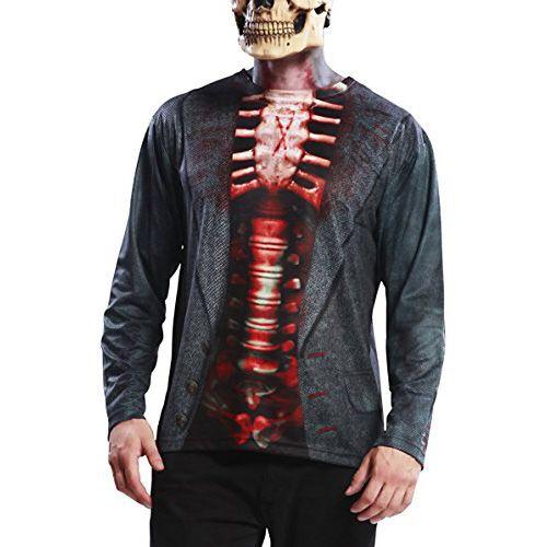 Camiseta hiperrealista esqueleto