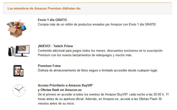 ventajas de amazon premium