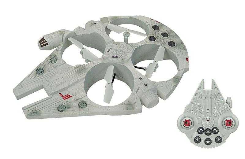 Dron del halcón milenario. Vuela de verdad. Regalos originales