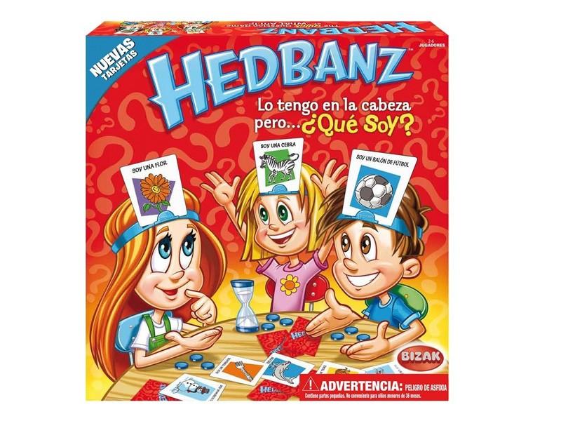 hedbanz - Juegos de mesa para regalar en Navidad