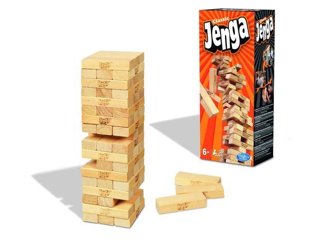 jenga - Juegos de mesa para regalar en Navidad