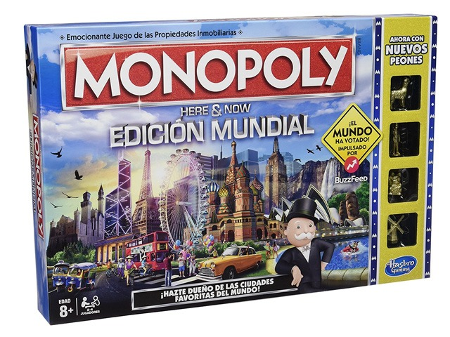 monopoly mundial - Juegos de mesa para regalar en Navidad