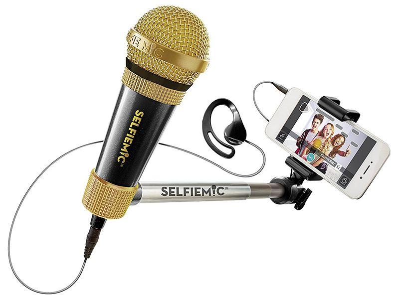 Micrófono selfi para grabar tus vídeos musicales. Regalos originales