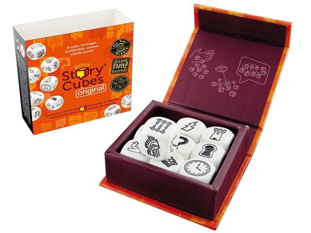 story cubes - Juegos de mesa para regalar en Navidad