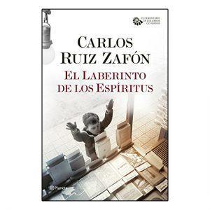 El laberinto de los espíritus de Carlos Ruiz Zafón - Portada