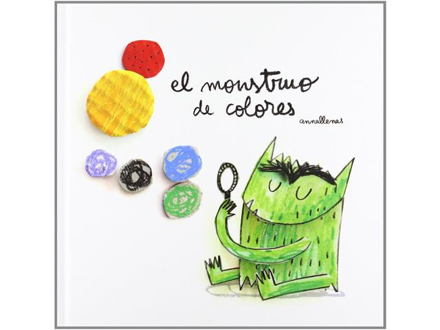 El monstruo de colores - Libros para regalar a los pequeños de la casa