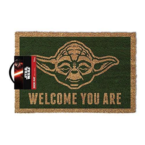 Felpudo-Star-Wars-Yoda-Welcome-You-Are