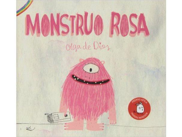 Monstruo rosa - Libros para regalar a los pequeños de la casa