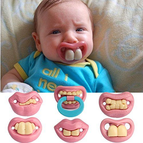 Chupete dentadura