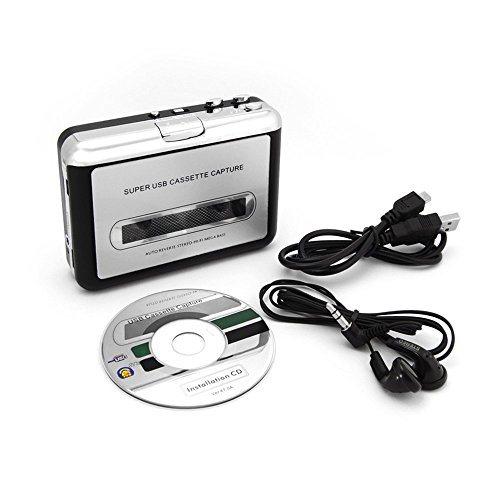Incutex-Reproductor-y-conversor-de-casetes-a-mp3-Porttil-Para-digitalizar-casetes-con-PC-0
