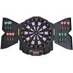 Homcom-Diana-electronica-digital-12-dardos-8-jugadores-27-juegos-216-variantes-sonido-0