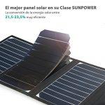 Cargador solar plegable alta eficiencia