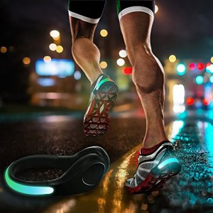 Pack 2 clips LED para zapatillas