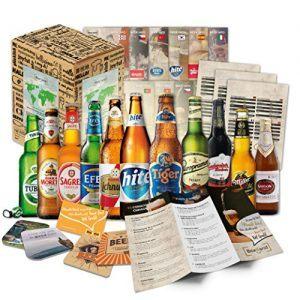 Caja regalo con 12 cervezas del mundo