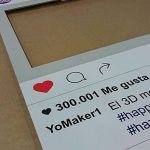 Marco photocall estilo instagram detalle