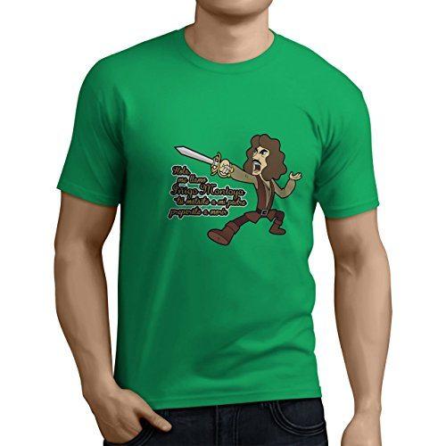 Camiseta Iñigo Montoya verde