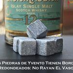 Cubitos de piedra Whiskey Stones no rayan el vaso