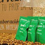 Kit para hacer cerveza artesanal lúpulo y grano de calidad