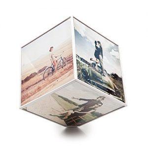 Marco giratorio Kube en forma de cubo