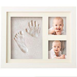 Marco de huellas de bebé