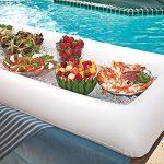 Bandeja - nevera gigante hinchable - Genial para la piscina