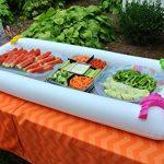 Bandeja - nevera gigante hinchable - Conserva frutas y verduras