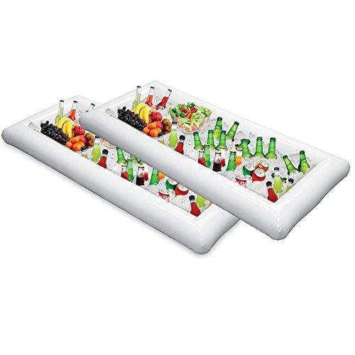 Bandeja - nevera gigante hinchable - Pack de 2