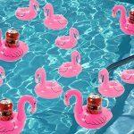 Flotador de bebidas - Pack de 6 - Ideal para la piscina.