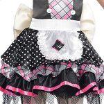 Disfraz de muñeca de porcelana para niña - Detalle de la falda y delantal