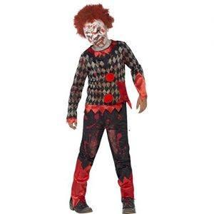 Disfraz de payaso zombie para niño