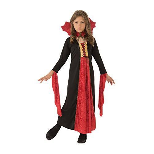 Disfraz de vamipiresa para niña