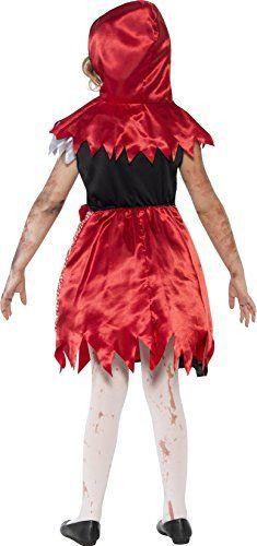 Disfraces Para Halloween De Caperucita Roja.Disfraz De Caperucita Roja Zombie Para Ninas