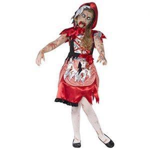 Disfraz de Caperucita Roja zombie para niñas