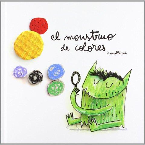 Libros para regalar a los pequeños de la casa - El monstruo de colores