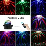 Luz para ambientar cualquier fiesta - 7 modos diferentes