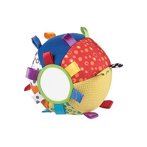 Pelota de tela multicolor para bebé