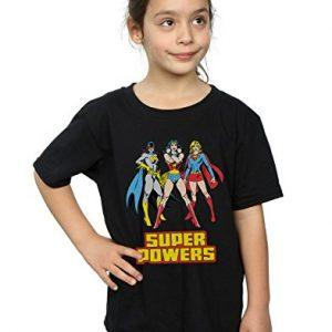 Camiseta niña Super Hero Girls
