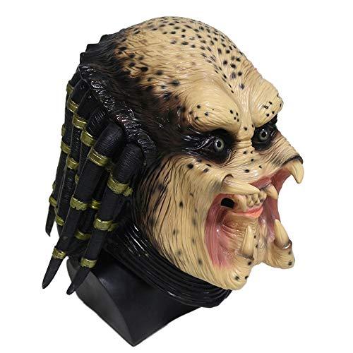 Máscara de Predator - Depredador - Vista lateral