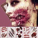 Tatoos de cicatrices y heridas - Muy realistas