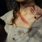 Tatoos de cicatrices y heridas - Heridas y arañazos