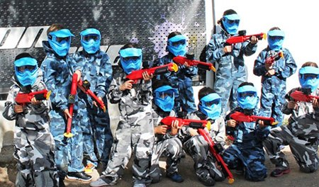 Regala una experiencia: Paintball