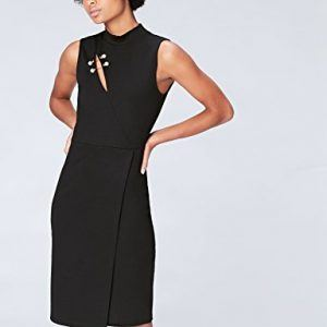 Vestido corto de fiesta negro
