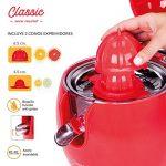 Exprimidor eléctrico New Chef Juicer Classic - Dos conos para exprimir distintos tamaños de cítricos - Mil ideas para regalar
