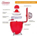 Exprimidor eléctrico New Chef Juicer Classic - Fácilmente desmontable - Mil ideas para regalar