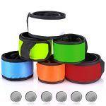 Brazaletes LED reflectantes para hacer deporte - Seis colores diferentes
