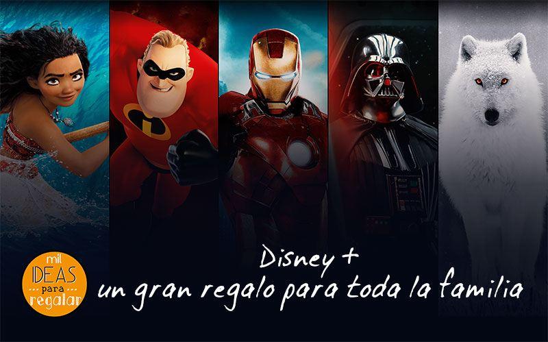 Disney + un gran regalo para toda la familia